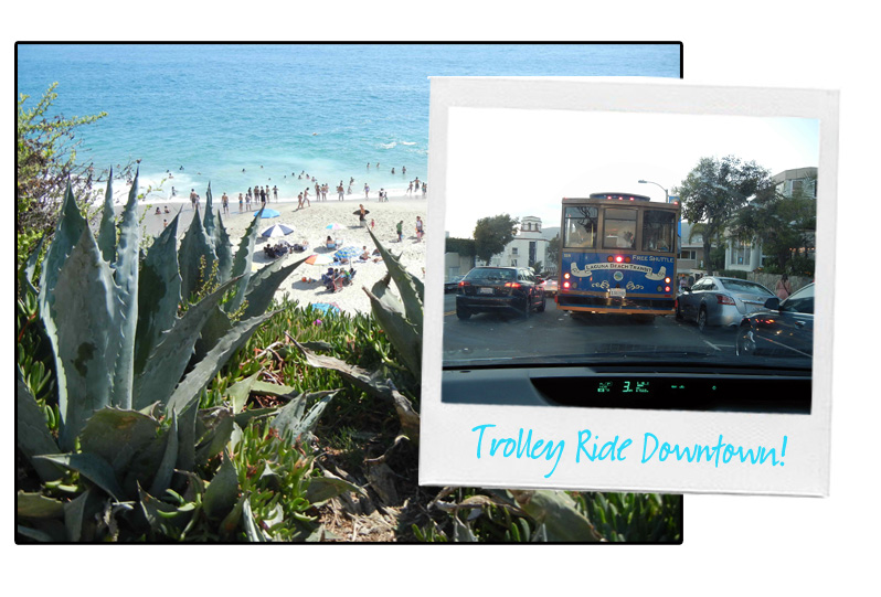 Laguna Beach, Trolley Ride, Stephanie Johnson copy