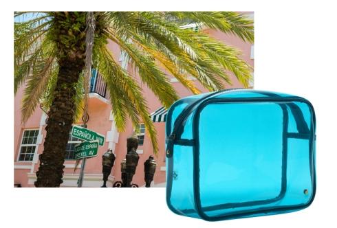 Stephanie Johnson Miami Blue Jumbo Zip